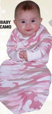 Infant Army Digital Camo Long Sleeve Creeper