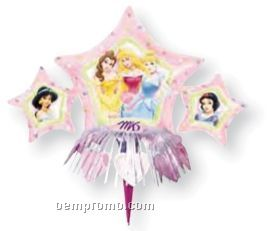 Wanderfuls Star Princess Balloon W/ Foil Wand