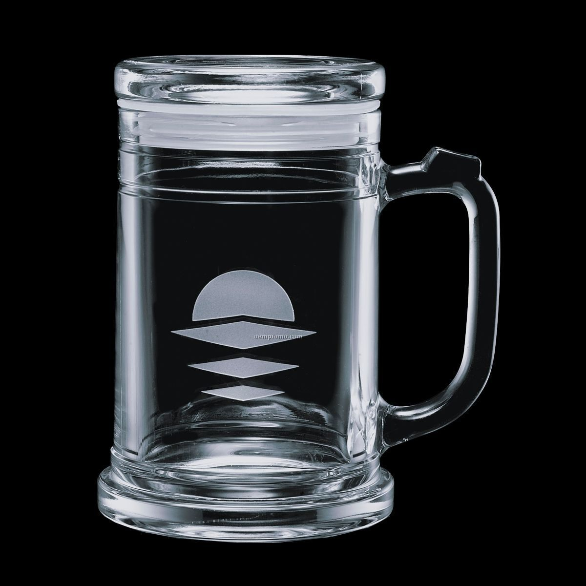 16 Oz. Raleigh Mug And Lid