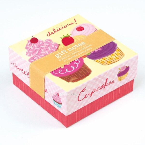 Cupcakes Gift Notes