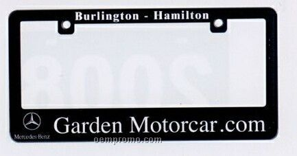 Polycarbonate Motorcycle License Plate Protectors