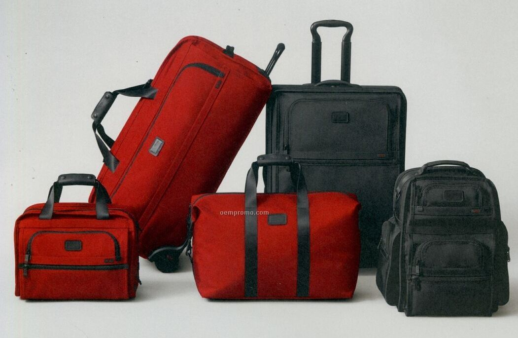Tumi Alpha Continental Carry-on Wheel-a-way