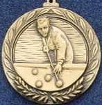 "2.5"" Stock Cast Medallion (Billiards)"