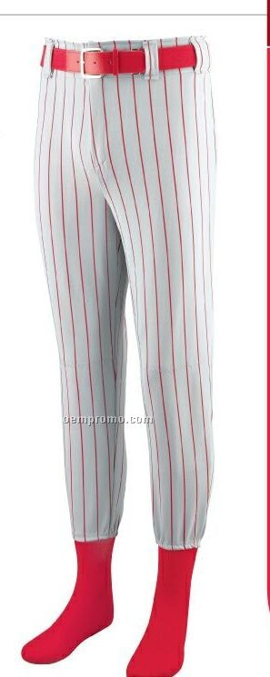 Adult Striped Softball/ Baseball Pants
