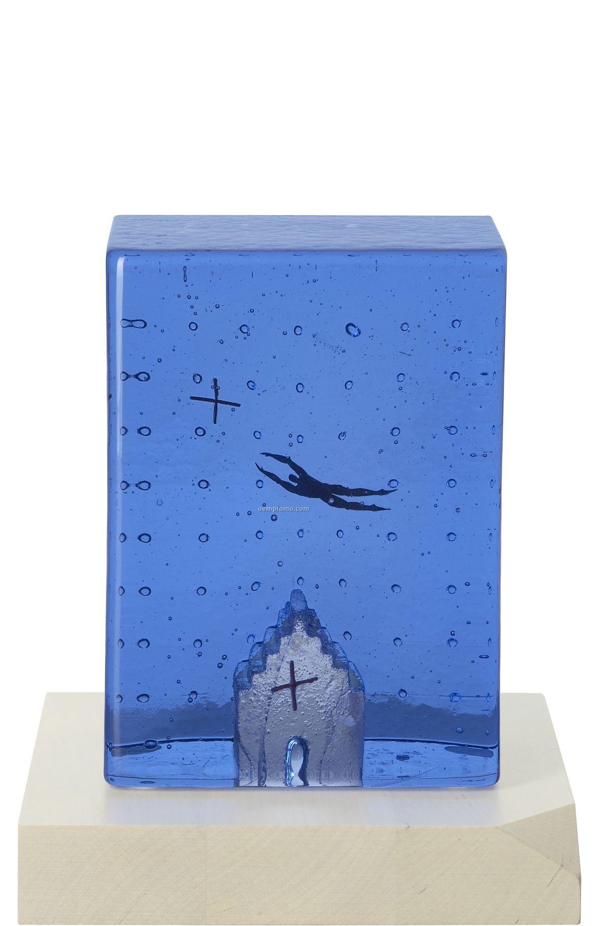 "Dreams ""Flying High"" Glass Art By Bertil Vallien"