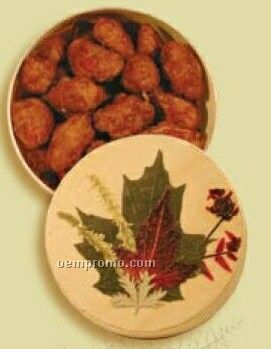 How Sweet Maple Chocolate Peanuts In Small Round Box (Thermal)