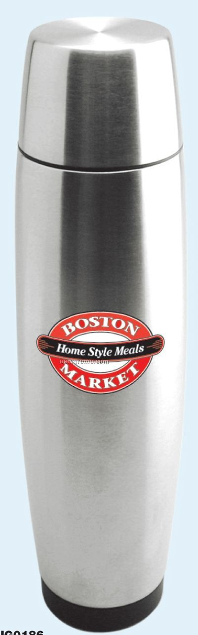 24 Oz. Stainless Steel Vacuum Flask With Lid/ Cup