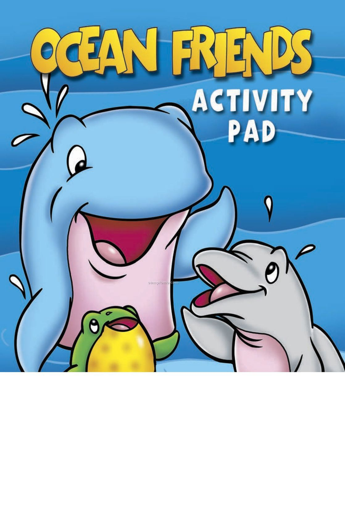 Ocean Friends Activity/Coloring Book Fun Pack