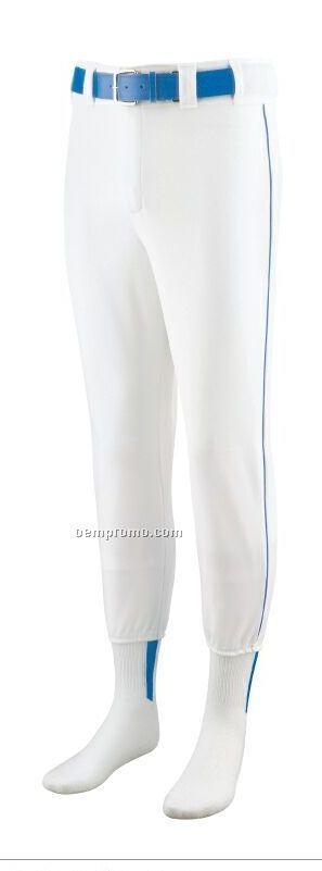 Adult Baseball/ Softball Pants W/ Piping