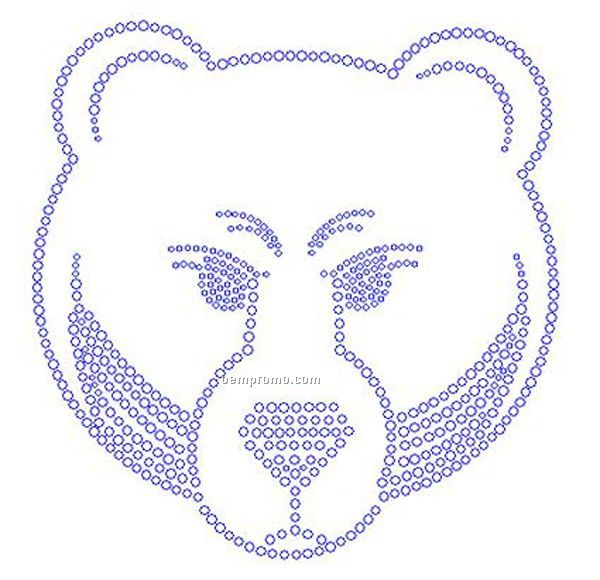 Bear Rhinestone Transfer