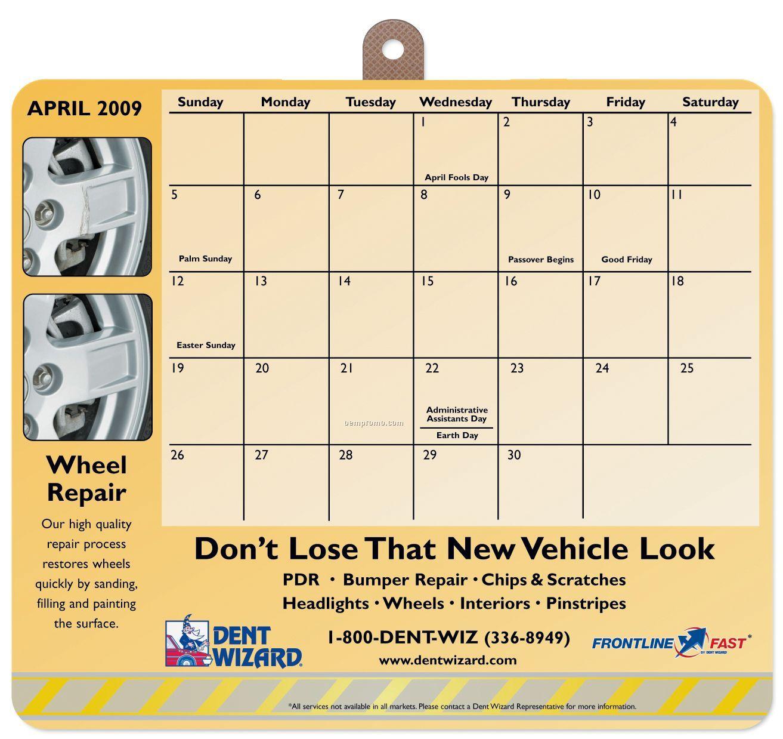 Mousepaper Calendar 24-month Paper Mouse Pad