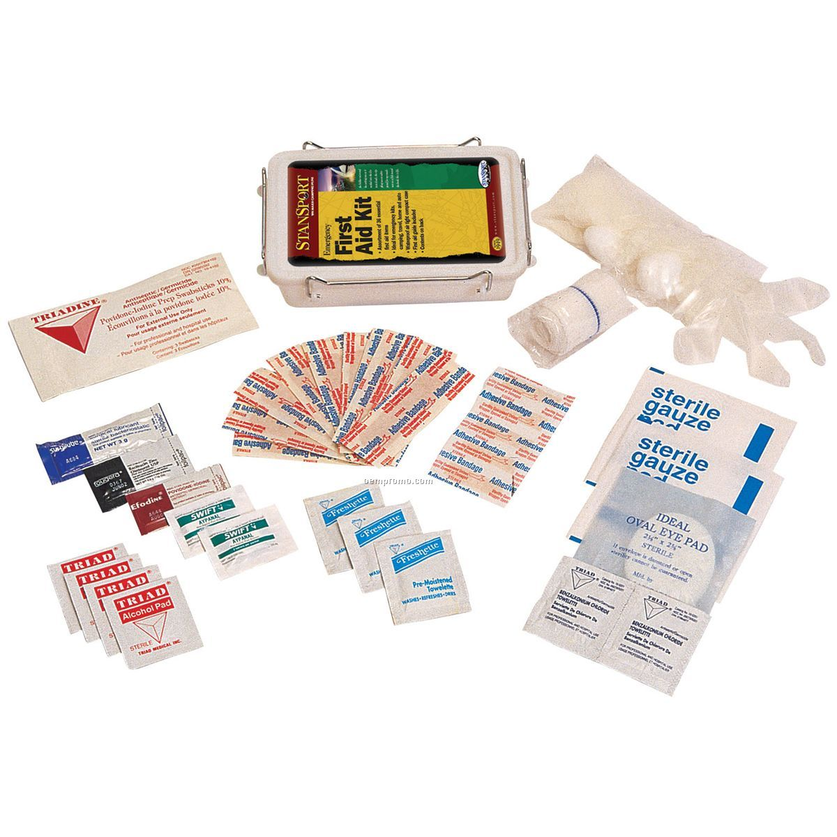 Emergency First Aid Kit 36 Items Compact Case