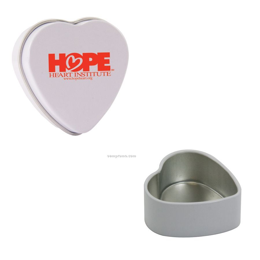 Empty Heart Tin