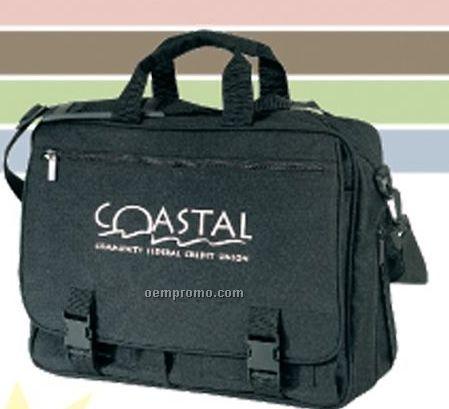 Expandable Briefcase W/ Organizer Pocket
