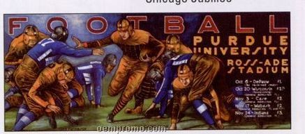 Poster: Purdue Football - Collectable Poster