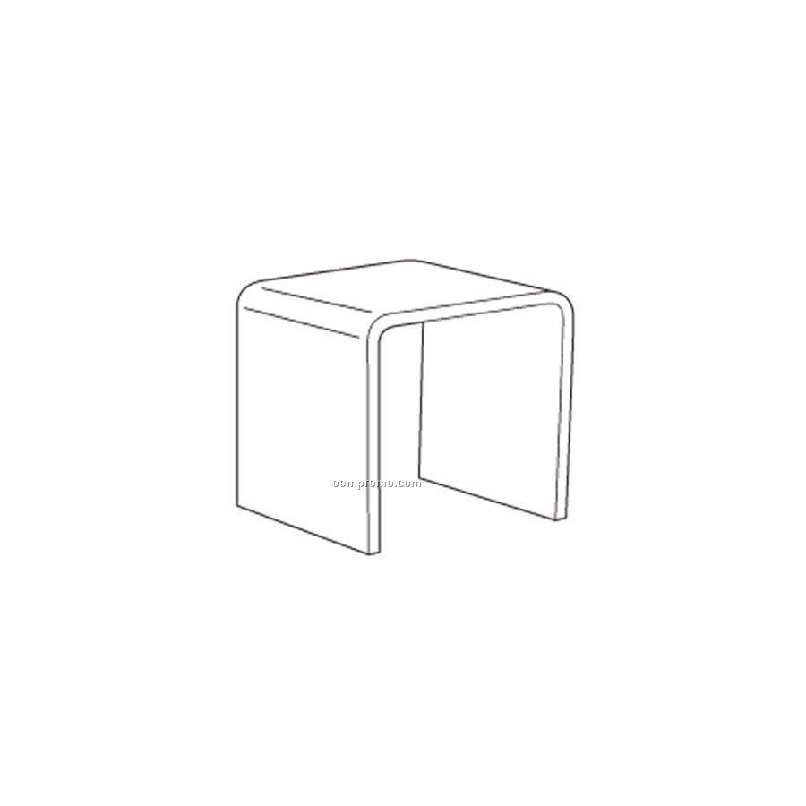 "Standard Clear Acrylic Riser ( 12""X12""X12"")"
