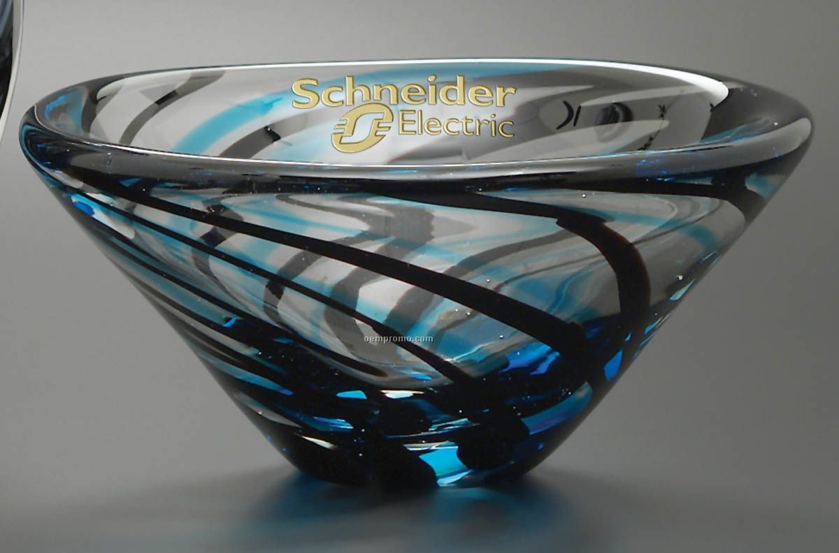 Swirl Bowl Art Glass