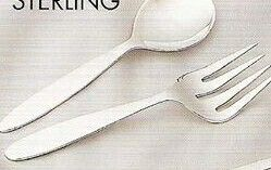 Silver Baby Spoon And Fork Set