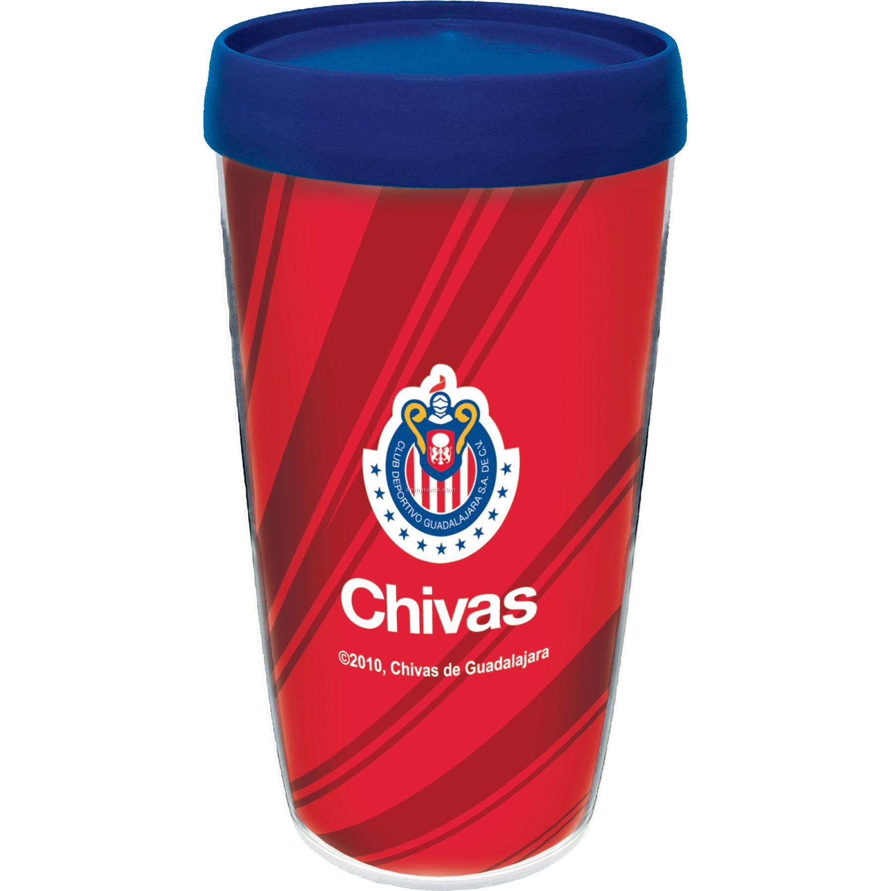 16 Oz. Thermal Travel Tumbler W/Spot Color Insert