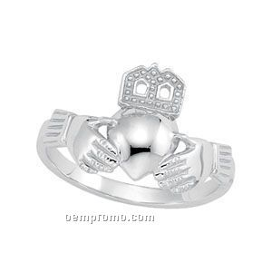Gents Kw Claddagh Ring
