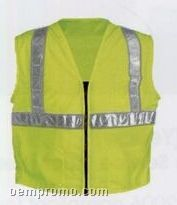 Premium Class II Surveyor's Safety Vests With 5 Pockets (3xl-4xl)