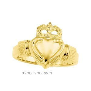 Gents' 14ky Claddagh Ring