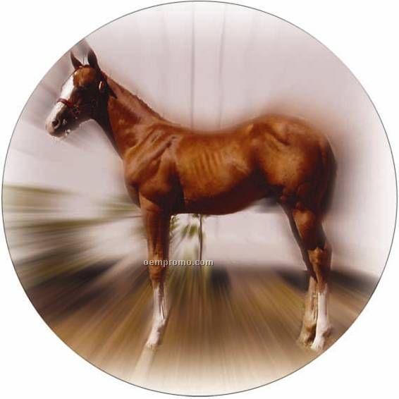 """Photo Mylar Insert - 2"""" Horse"""