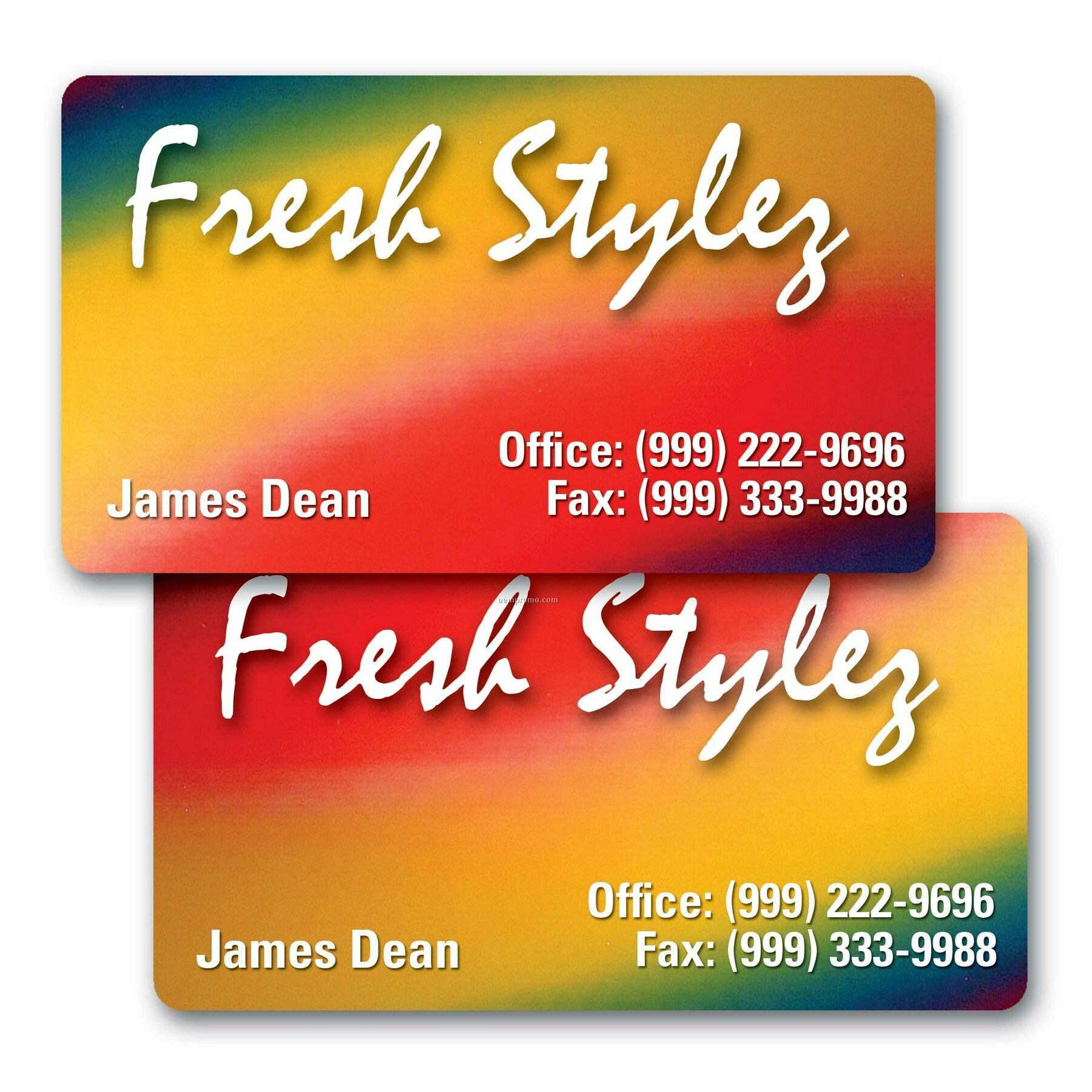 Business Card/Lenticular Color Changing Flip Effect - Imprinted (2 ...