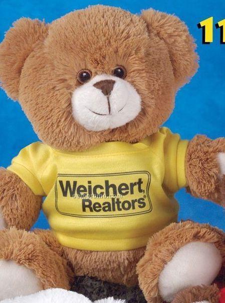 Tumbles Baby Soft Pecan Brown Stuffed Bear