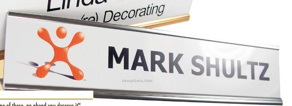 Desk Or Door Name Plate & Sign Logo Only