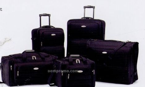 Corsica 4 Piece Set Luggage W/ Wide Mouth