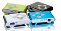 Aluminum Clip On Mp3 Player (128 Mb)
