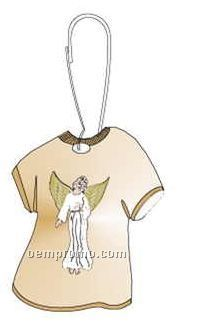 Angel T-shirt Zipper Pull