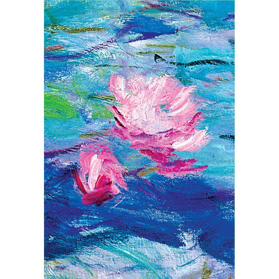 Monet Evening Waterlilies Mini Journal 6-pack