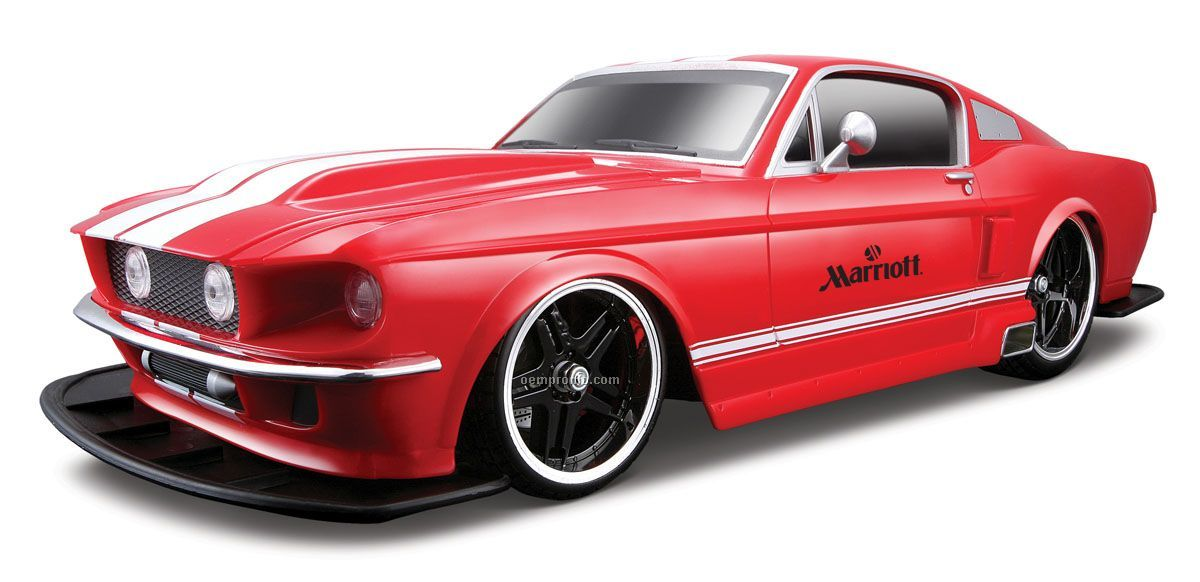 """14"""" R/C 1:10-1:12 1967 Ford Mustang Gt"""