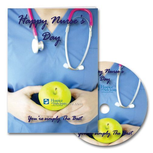 Happy Nurse's Day Greeting Card With Matching CD