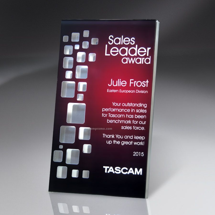 Reflective Window Tablet Wall Plaque