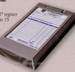 Plastic Portable Register