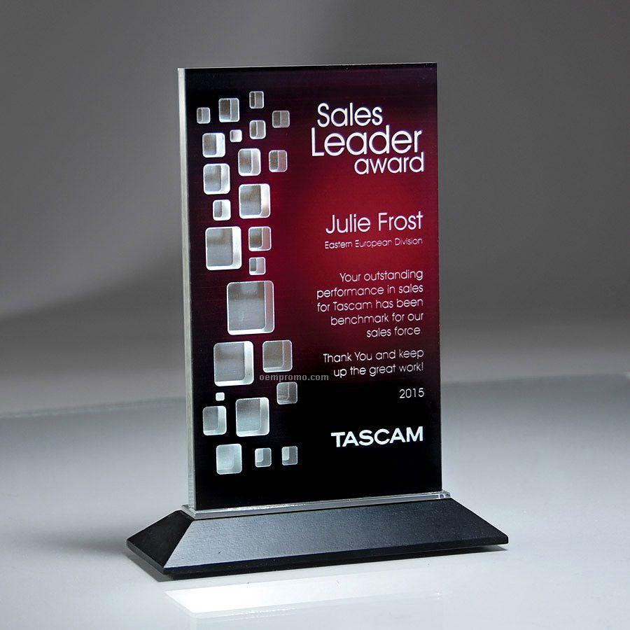 Reflective Window Tablet Award