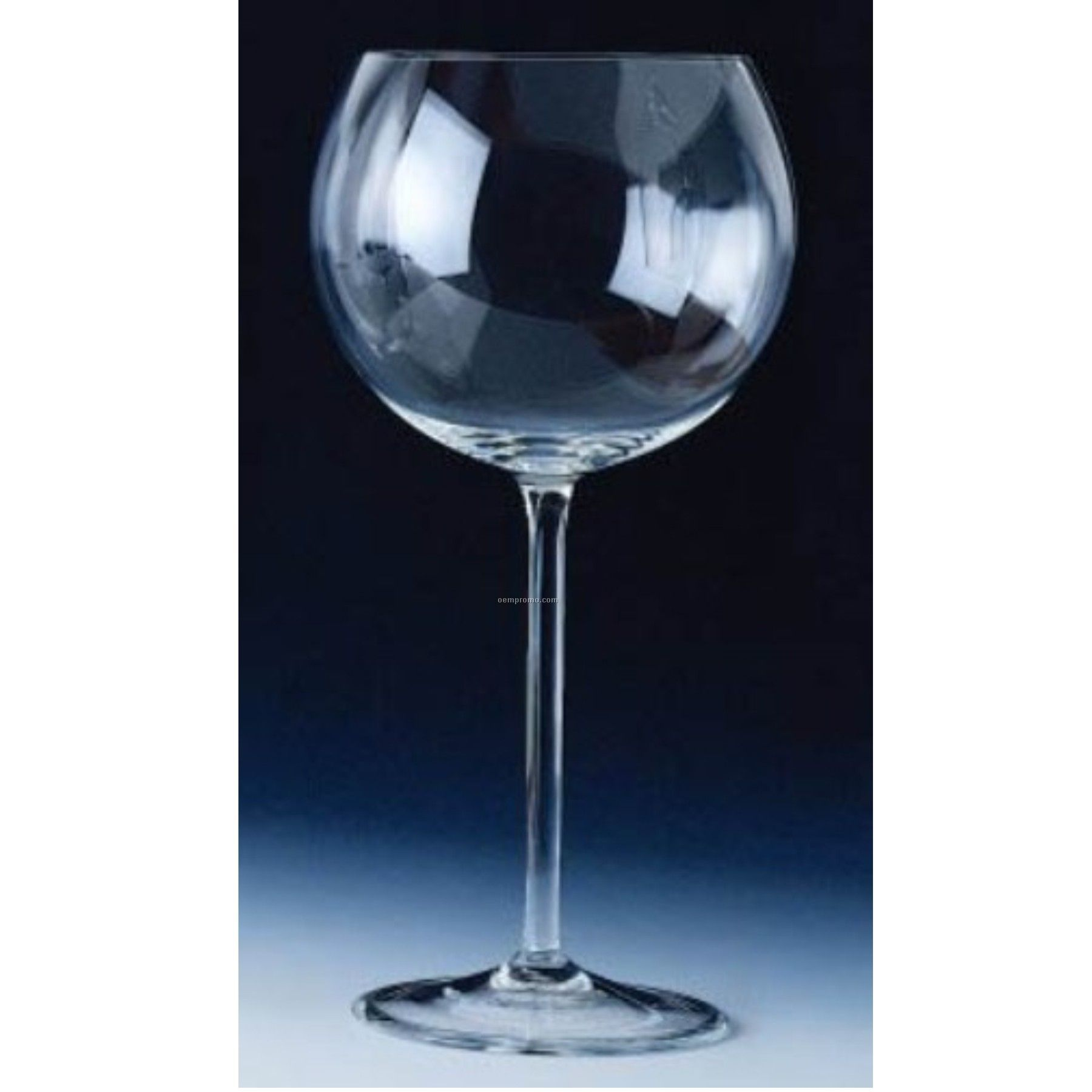 Super Balloon Burgundy Glass