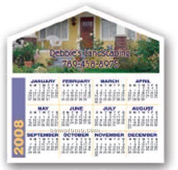 Full Color Calendar Magnet W/Arrow Top / 20 Mil - Group L1