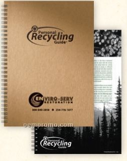 """Medium Personal Recycling Guide Journal (7""""X10"""")"""