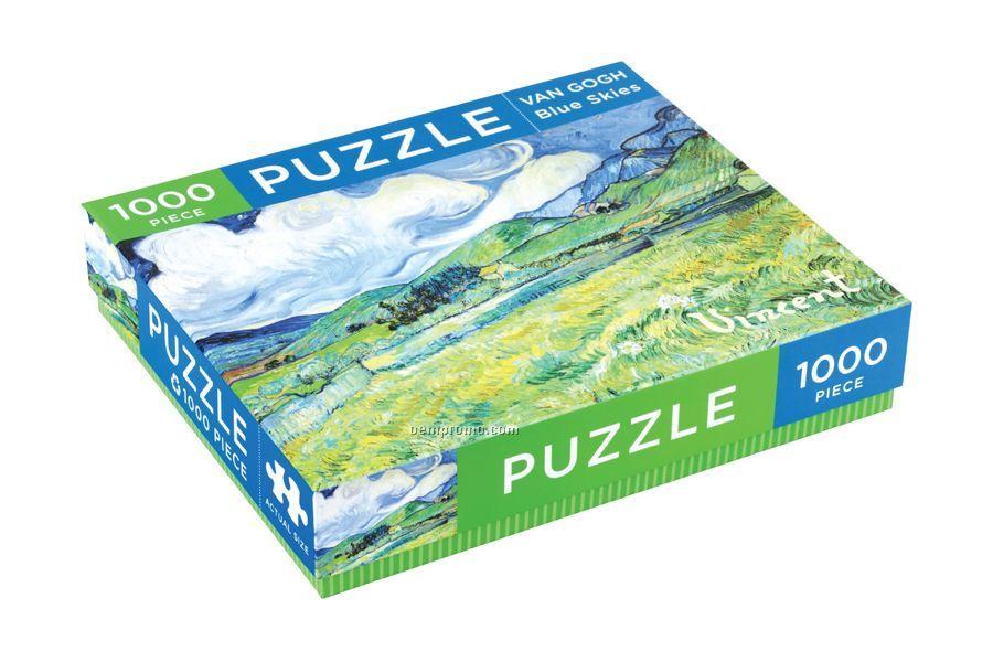 Van Gogh Blue Skies Puzzle