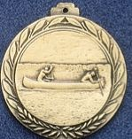 "2.5"" Stock Cast Medallion (Canoe)"