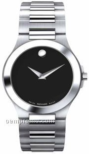 Movado Ladies' Corporate Exclusive Stainless Steel Bracelet Watch