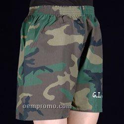 Tie-dye & Camo Boxer Shorts