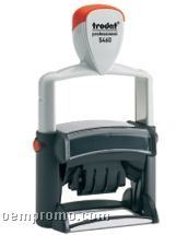 "Trodat Professional Self Inking Dater Stamp (2 1/4""X1 1/4"")"