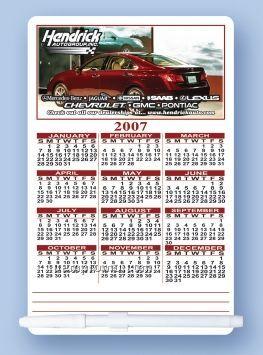 "Calendar Memo Board With Dry Erase Marker & C-clip (5 1/2""X8 1/2"")"