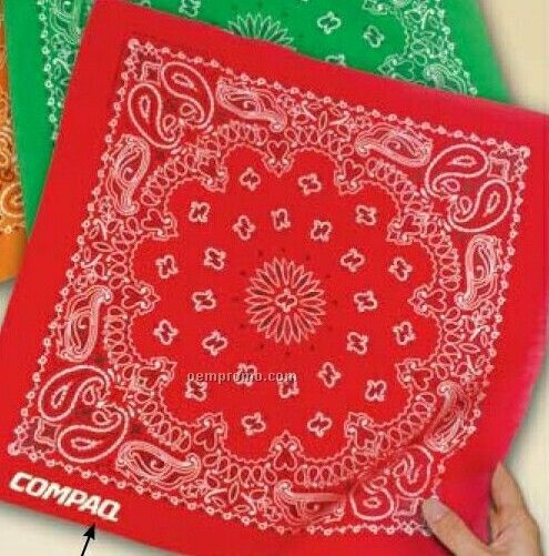 Cotton Original Design Paisley Bandanna (Unimprinted)