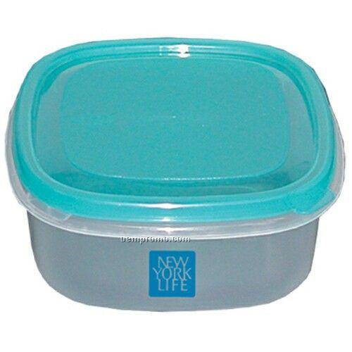 Small Square Plastic Container Bowl